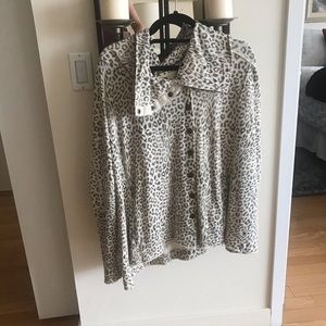 Free People Cheetah Sweater